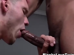 Diabolical gay blade rams dabbler white ass