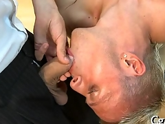 Salacious pecker sucking