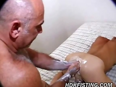 Punch Fucking Daddy in Hot  Holes