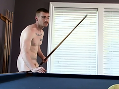 James Jamesson plays a little pool and strokes his respond to interview
