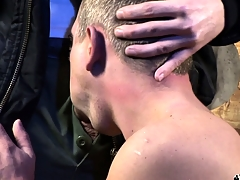 Twosome lickerish together with lustful skinheads set up a gay encounter forth grasp pleasure