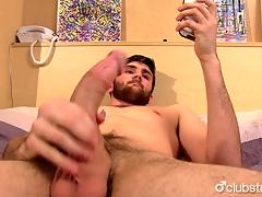 Sexy Frank Jaxon Masturbating