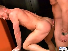 Cocksucking and rimming is hot surrounding gay fuck video