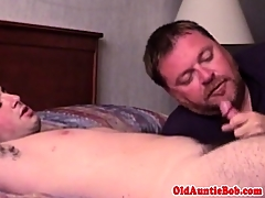 Layman straightbait jocks first gay blowjob