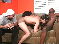 Horny uninspiring dude gets unscrupulous cock insertion