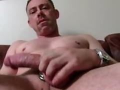 Chap-fallen Candid Daddy Tucker Masturbating