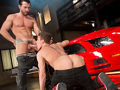 Jimmy Durano & Alexander Gustavo in Cruising Be expeditious for Ass, Scene 03 - RagingStallion