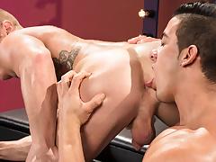 Johnny V & Jacob Taylor round The Appetite Is Real, Scene 03 - RagingStallion