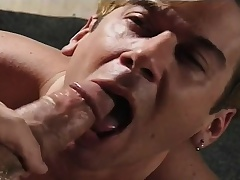 Filial young man gives a great blowjob and begs be advisable for a hard anal shacking up