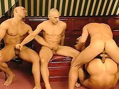 Business is unabated and the fun begins with a hard ache blissful foursome