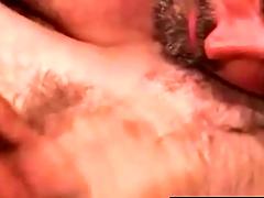 Straight bear receives a well below par with facial